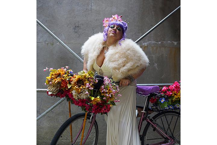 Shelly's flower bike, NYC