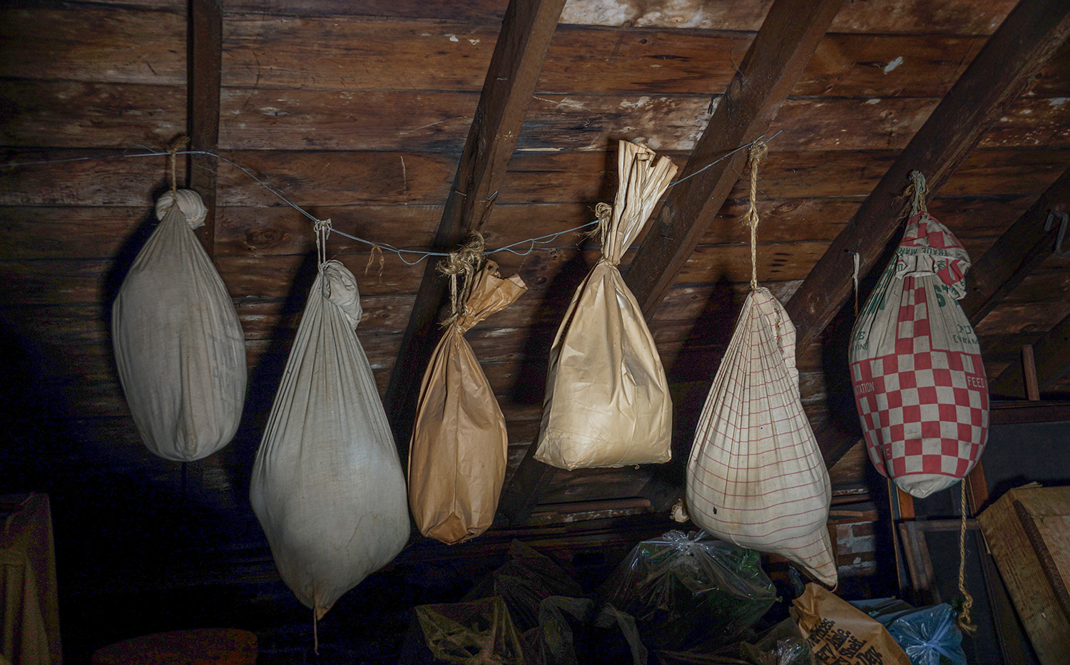 Mystery bags, House of Mysteries, Trotwood, Ohio