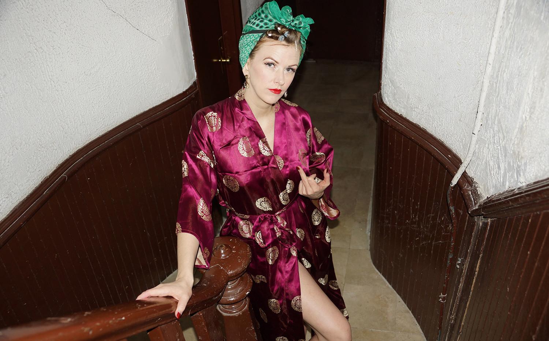 Burlesque star Bettina May