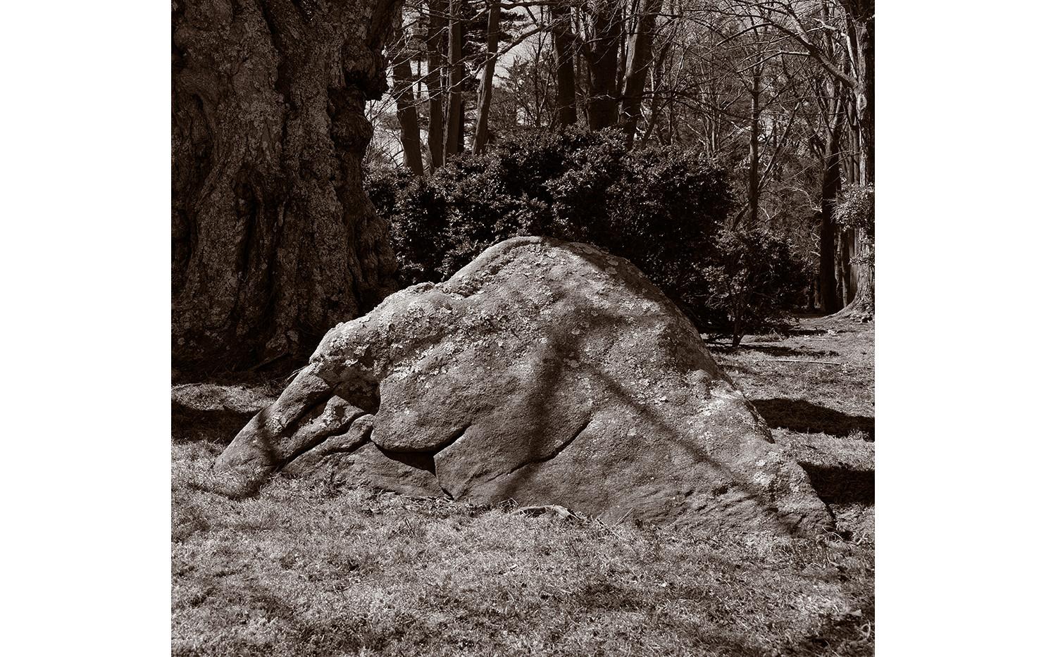 Massive stone