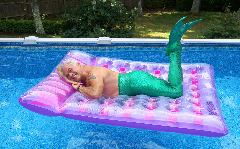 Jimmy on a float