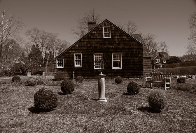 Garden, historic Halsey House