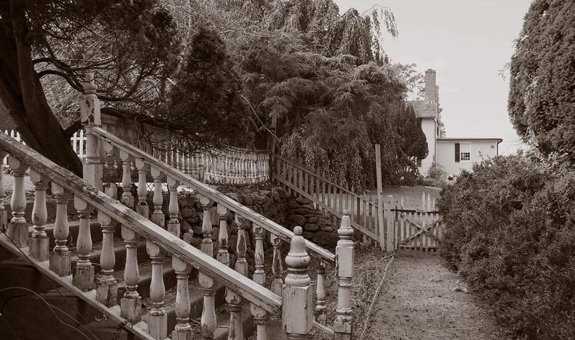 Ruined stairway