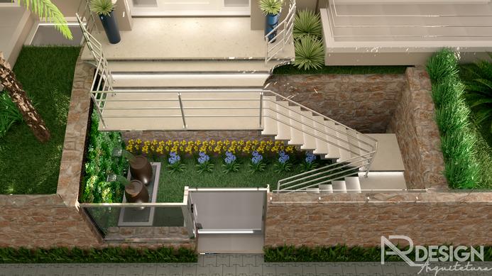 Escada Frontal