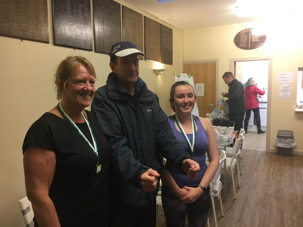 Ladies Doubles Winners