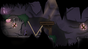 Early Lumen concept scene of the cave by Spencer