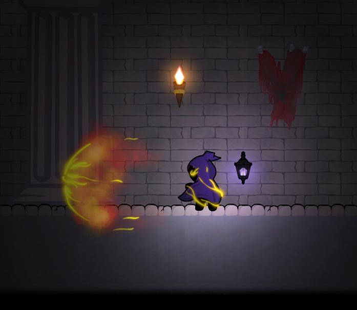 Lumen using an early spell