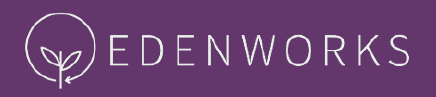 Edenworks logo purple