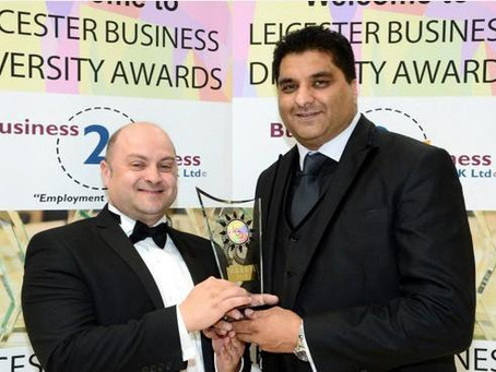 Congratulations to our CEO Tinku Durrani for winning a Diversity Award!