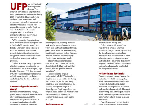 UFP Appeared in the HSS Magazine!