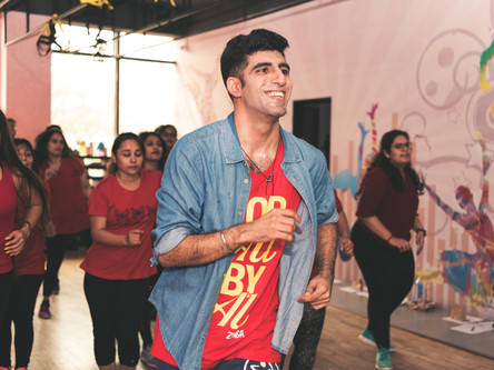 Zumba your stress away with Vignesh
