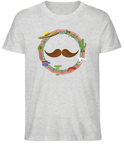 T-SHIRT ZERIS MOUSTACHE