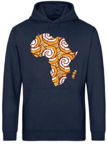 HOODIE MAPA ÁFRICA