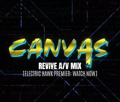 Revive AV Mix Cover Art Electric Hawk Pr