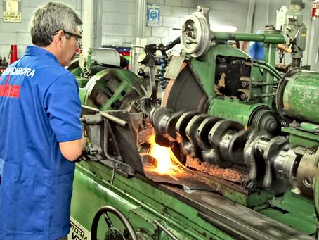 Rectificación de Cigüeñales diesel