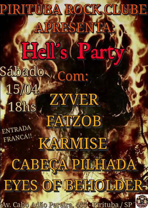 Hell´s Party - Pirituba