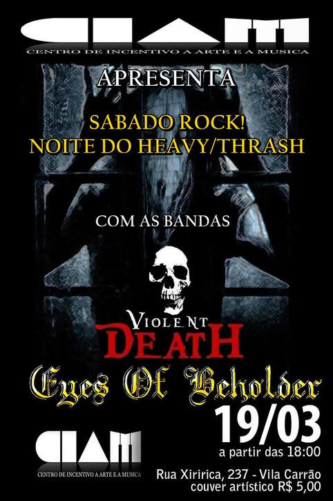 Eyes of Beholder -  Live in CIAM em São Paulo