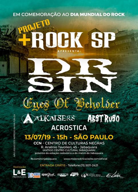 Dia Mundial do Rock - tem Eyes of Beholder