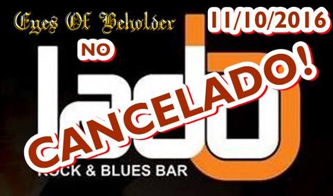 Nota de esclarecimento sobre o cancelamento do Show no Lado B em São José dos Campos/SP