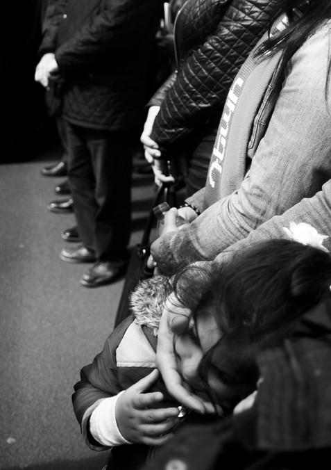 Wrapped into a prayer.