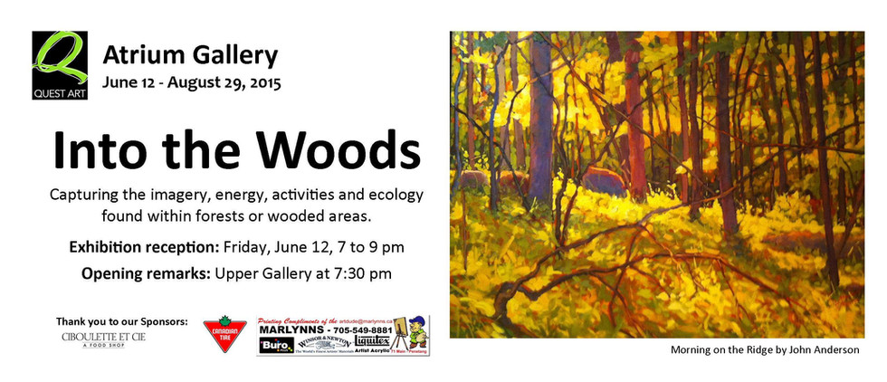 Into the Woods, Quest Art, Curated by Ji