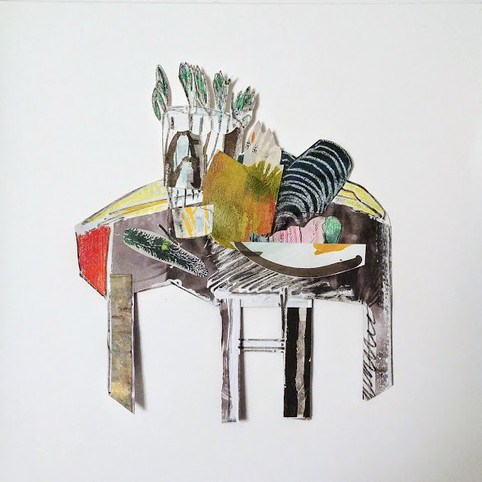 Jill Price, Landscape on Table Study VII