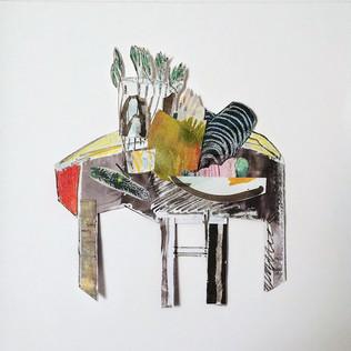 Jill Price, Landscape on Table Study VII