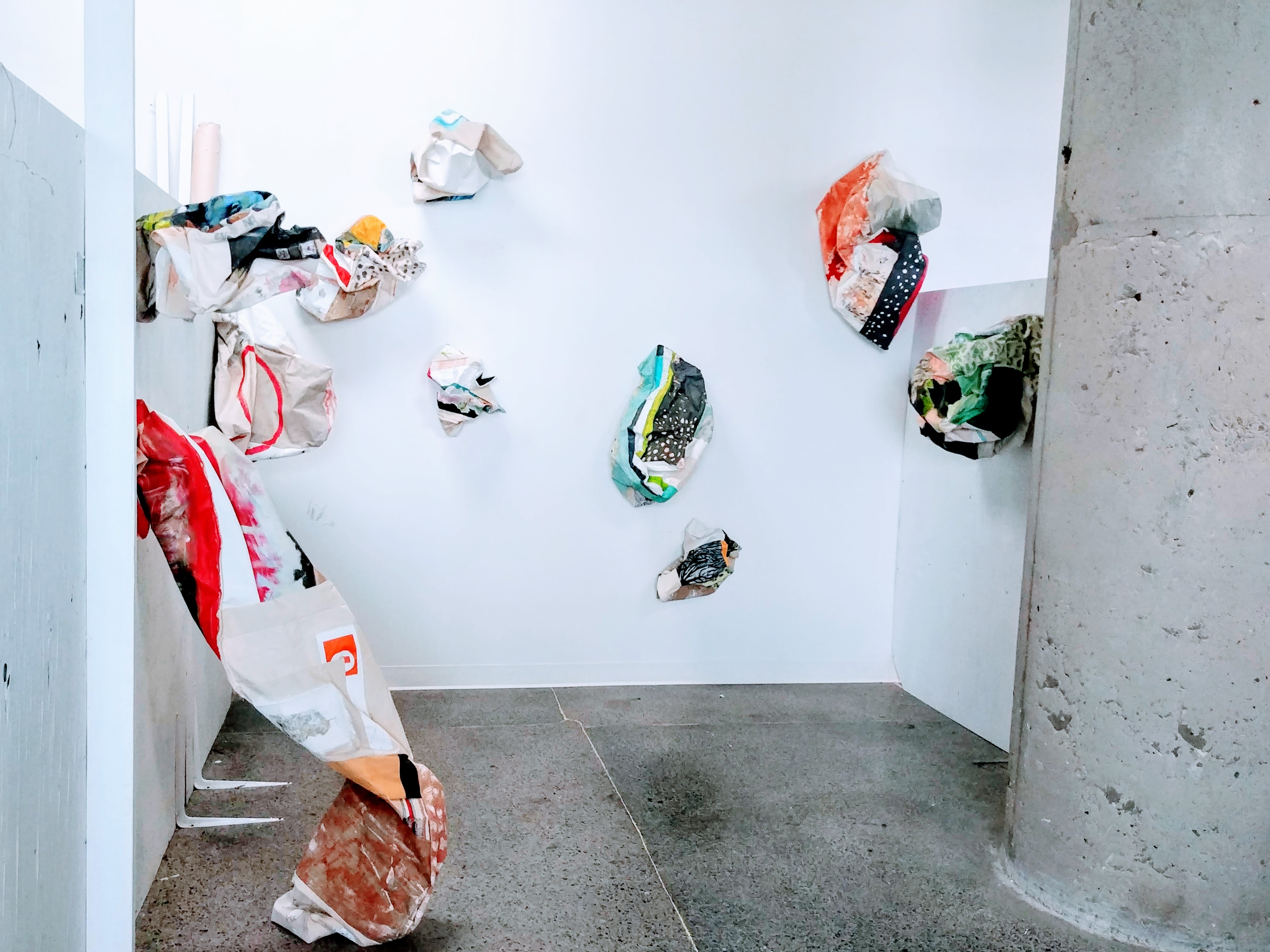 Jill Price, Undoings installation Shot,