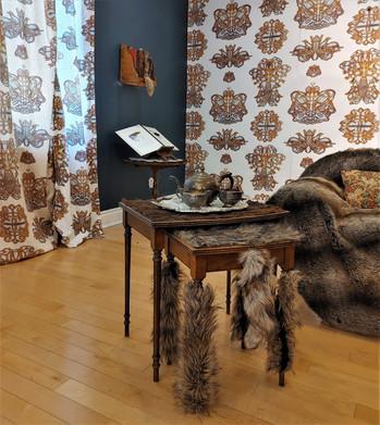 Jill Price, Unfurled, 2021 (Installation Shot ll), Carnegie Gallery, Orillia Art and Histo