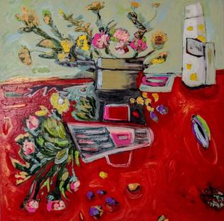 Jill Price, Landscape on Table #3 _Yeste