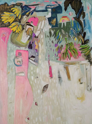 Jill Price, Landscape on Table #4_Tropic