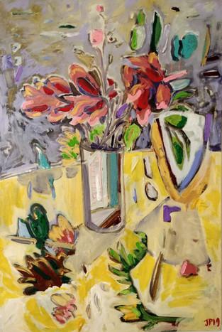 Jill Price, Landscape on Table #1_Backya
