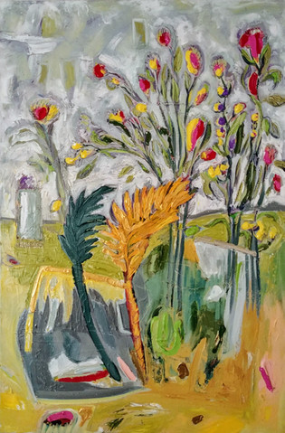 Jill Price, Landscape on Table #2 _The L