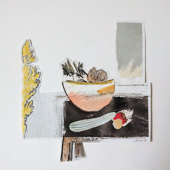 Jill Price, Landscape on Table Study VI,