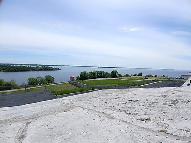 Fort Henry overlooking Lake Ontario, Pho