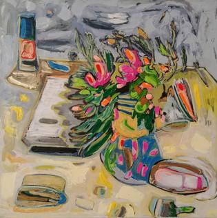 Jill Price, Landscape on Table #5_Spille