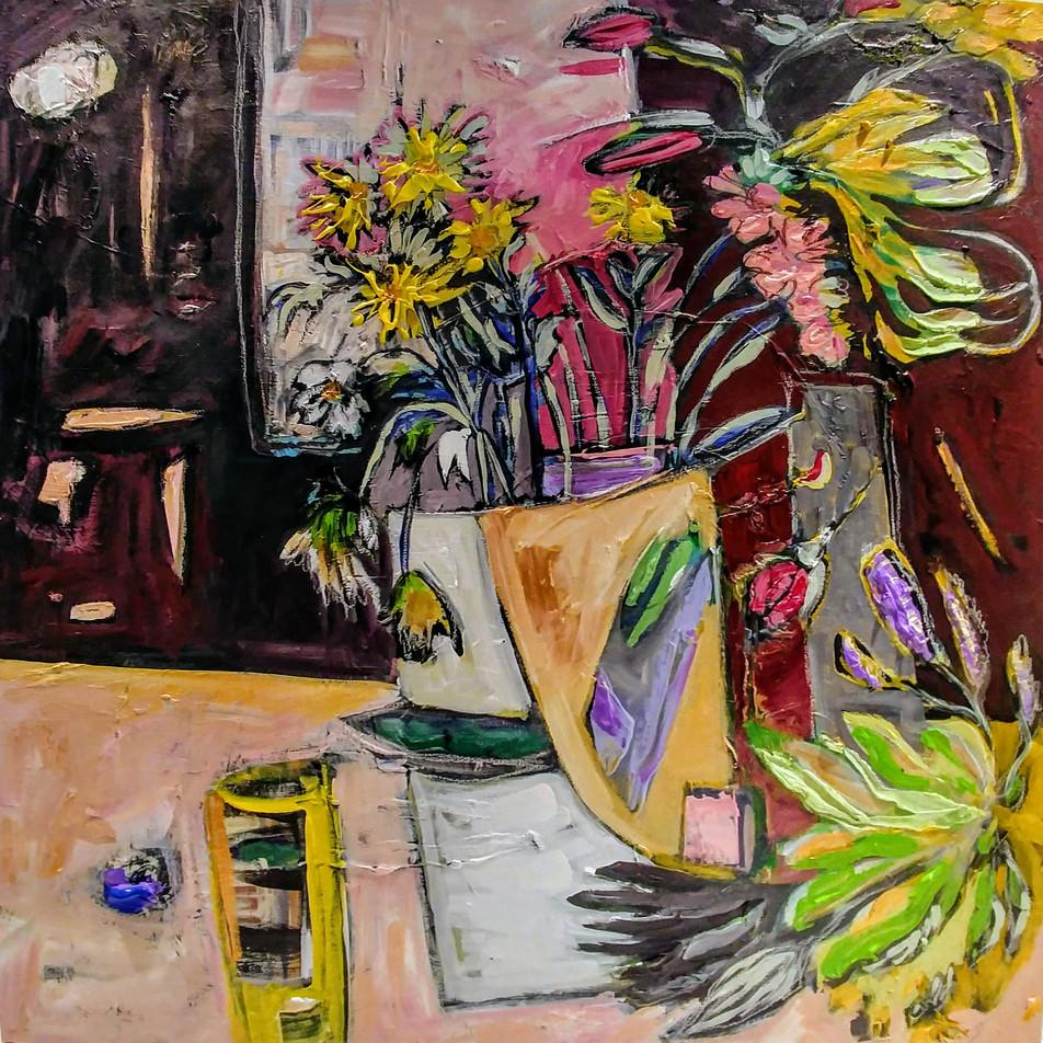 Jill Price, Landscape on Table #7_ Picke