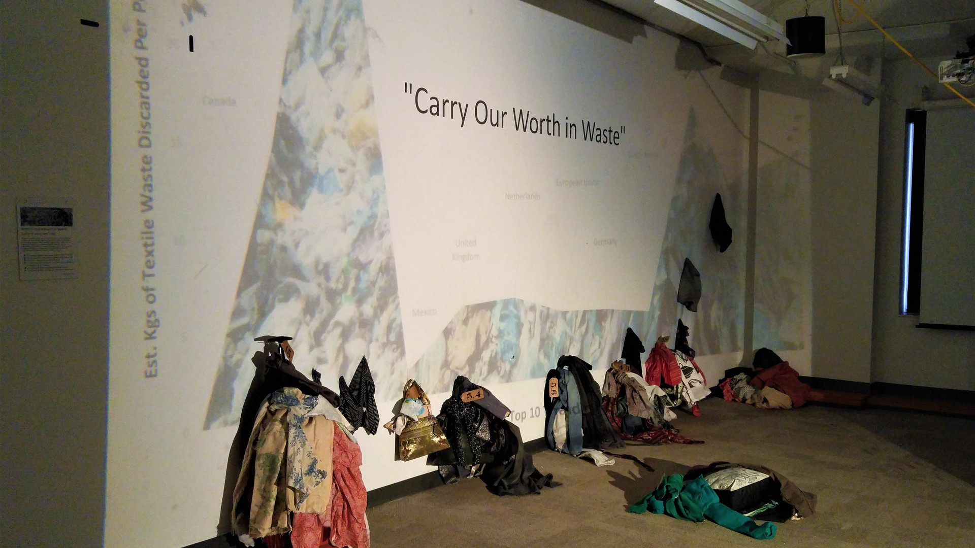 Carry Our Worth in Waste installation.jp
