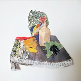 Jill Price, Landscape on Table Study V,