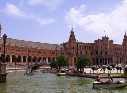 Seville, Malaga, ooh I want to take you to Cordoba, Granada, come on pretty mama ...