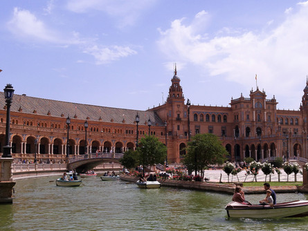 Seville, Malaga, ooh I want to take you to Cordoba, Granada, come on pretty mama ...