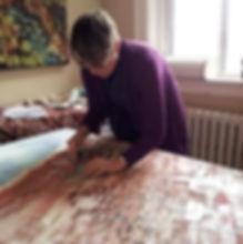 Jill Price artist studio, jill price art, jill price conceptual landscape, canadian art