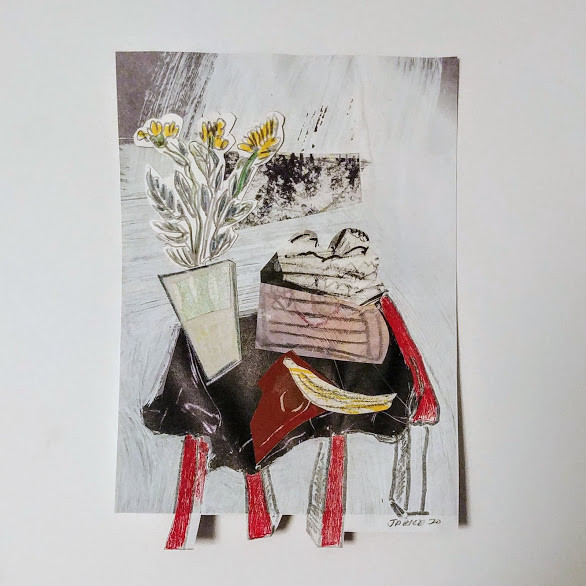 Jill Price, Landscape on Table Study III