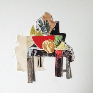 Jill Price, Landscape on Table Study II,
