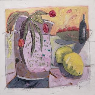 Jill Price, Landscape on Table, 2020