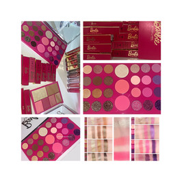 BYS X Barbie Collection- Livin' The Dream Face & Eyeshadow Palette Description + Swatches