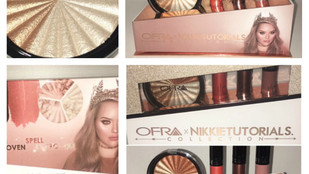 OFRA X Nikkie Tutorials Collection Review + Swatches