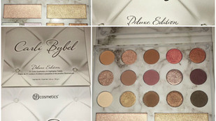 BH Cosmetics x Carli Bybel Deluxe Edition Eye and Cheek Palette Review + Swatches
