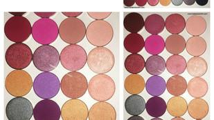 Coastal Scents Individual Hot Pot Shadows Review + Swatches Part 3 (x 28 shades)