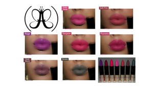 ABH Matte Lipstick Review + Swatches - x7 Shades